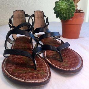 Sam Edelman Black strapping Sandals Sz. 7.5